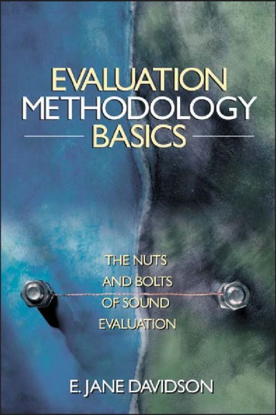 Evaluation Methodology Basics Book Cover