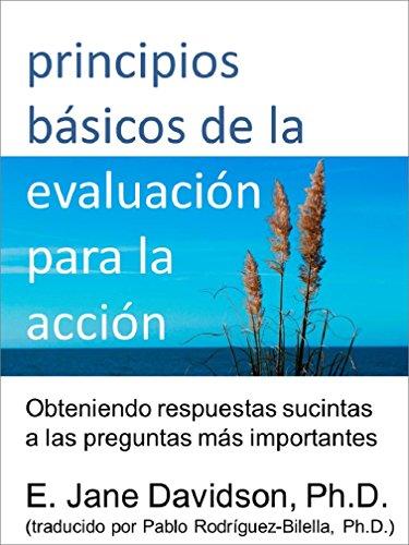 Principios básicos de la evaluación para la acción